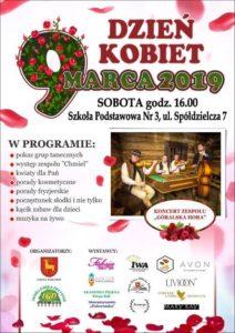 Zaproszenie na Dzień Kobiet